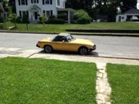 1976 Yellow Convertible MILLIGRAMS all set to market
