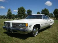 Options Included: 1976 Oldsmobile 98 Regency Four Door