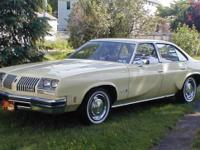 1976 oldsmobile cutlass s sdn 17,585 original miles no