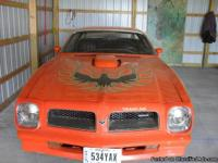 Make:  Pontiac Model:  Trans Am Year: