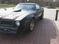 The Very last Year Pontiac Built The Big Block 455 So