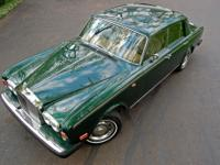 1976 Rolls-Royce Silver Shadow  The body on the car is