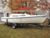 1976 Macgregor Endeavor V25 with trailer. This boat was