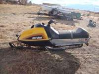 i have a good 76 ski-doo it ran great last winter. $300
