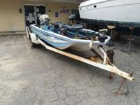 1976 Stryker Boats Bass Boat 1979 Stryker with Evinrude