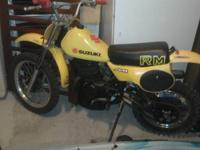 I have an all origalnal RM 80 two storke dirt bike. It