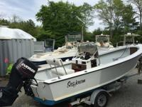 ..///tripp Angler 18 1976 center console with solid