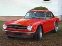 1976 Triumph TR6 with Overdrive & Hardtop More pictures