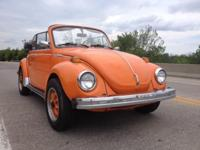 Super Beetle - fuel injection. This bug attracts a
