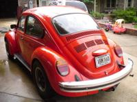 NICE customized bug for sale.It has keyless entry,