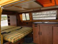 1976 VW Westfalia has been completed restored to