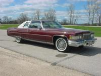 1976 Coupe de Ville. This is the finest 76 Cadillac