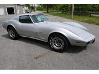 Very desirable 1976 Corvette coupe that has several