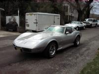 1976 Corvette Stingray. 350ci.030 over. Paint done