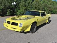 Just in and ready to cruise is this fast 1976 Pontiac