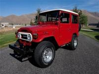 This FJ40 has been inspected by a independent ASE