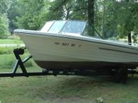 1977 Steury with 18' tilt trailer. This boat has a