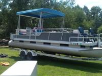 I have this pontoon boat we bought and brought back