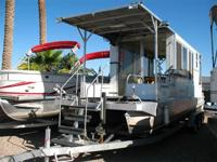 Really Cool! Set Up Nice For Fishing! Enclosed Cabin,