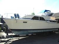 1977 35ft Chris Craft Catalina with aft cabin, with