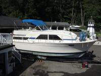 1977 35 ft Chris Craft Catalina aft cabin with twin