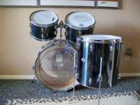 My old set of Slingerland drums, I keep listing them,