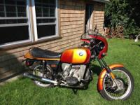 1977 R100S - matching numbers / unrestored original