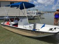 1977 Boston Whaler 13 Sport Boat is located in