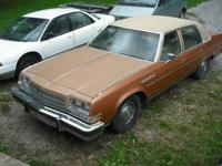 1977 BUICK ELECTRA LTD with 403 and TH350 auto trans.