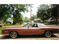 MUST SEE !!! 77 Cadillac Eldorado , desert rose (color