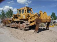 1977 Caterpillar D9H. This 1977 Caterpillar D9H has a