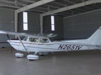 N2651 is a Cessna 172 Hawk XP which boasts a 195HP