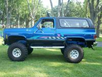 Just in on Trade: 1977 K5 Blazer with full lift kit,