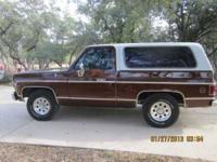 1977 K5 Cheyenne Blazer is in excellent condition and
