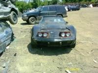 FOR SALE 1977 CHEVROLET CORVETTE FOR PARTS ONLY! MANY