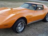 Definitely gorgeous 1977 L-48 Chevy Corvette with a 350