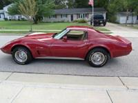 A favorite of all ages, the 77 Vette had timeless style