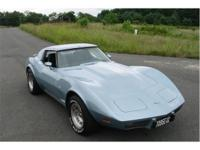 A super clean original 1977 Corvette T-Top Cpe with