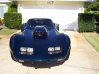1977 Pro Street or race or show corvette car has never