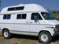 1977 Chevy 3/4 Ton Van with Camper Conversion $1,999
