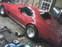 1977 Chevy Corvette. 350 V8 with TH 350 automatic