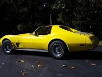 1977 Corvette super clean and low mileage at 32,800.