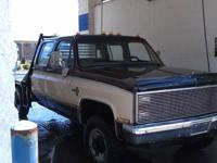 I am selling my 1977 Chevy K30 1 Ton Crew Cab ( 4 door