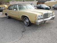 Just in a Classic Chrysler Newport 4 door sedan. Has an