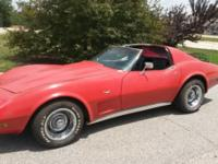 1977 Corvette Runs and drives great. This is a Daily