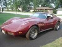 Great project car - 1977 Corvette, Automatic, T-Tops,