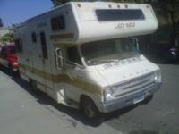 1977 Dodge Motorhome runs everything works sleep 7 tags