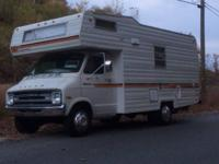 Very nice condition, clean motor-home. Sleeps 6, clean