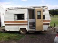 For Sale: 1977 Fleetwing Camper...stove. Fridge. Bed ,
