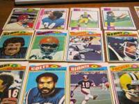have some old football cards.and also some old 80s